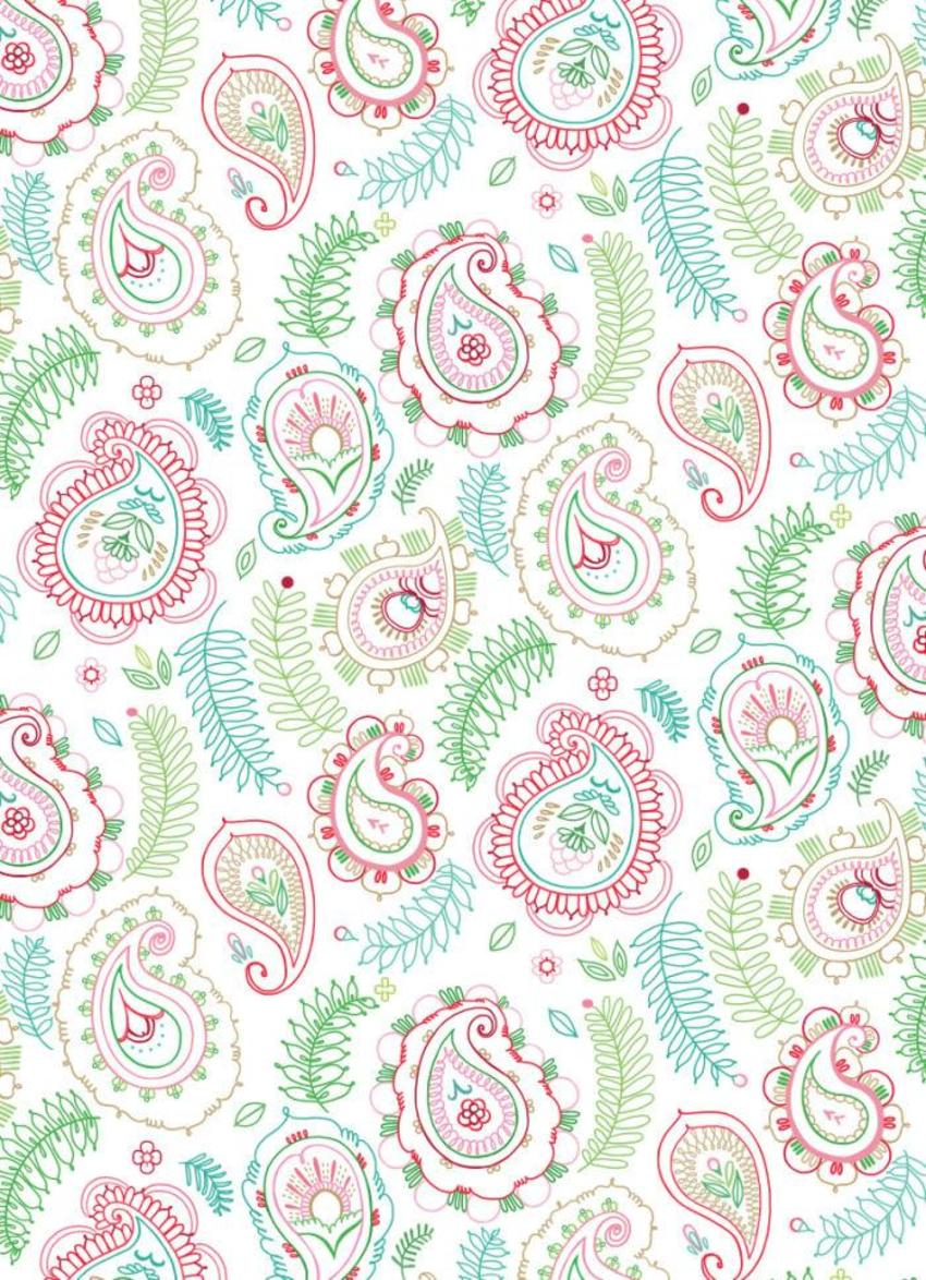 Paisley Wrap Pattern