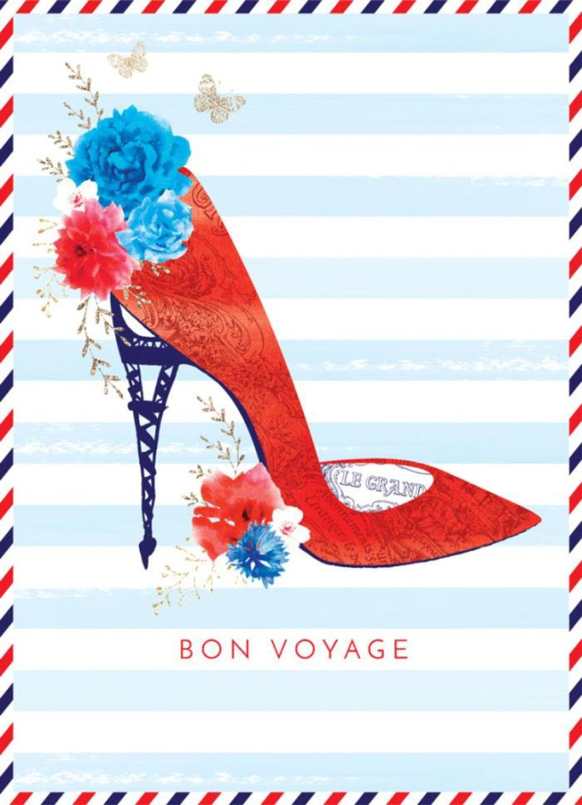 Bon-voyage-shoe-illustration-high-heel-stiletto-eiffel-tower-french-travel-heels-with-flowers-5x7