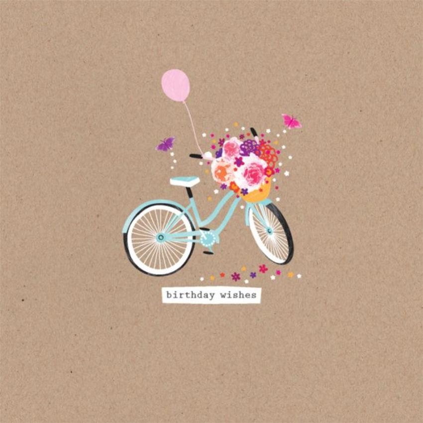 Female Birthday Juvenile Birthday Bike With Flowers In Basket 2