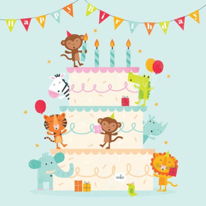 Cake & Animals
