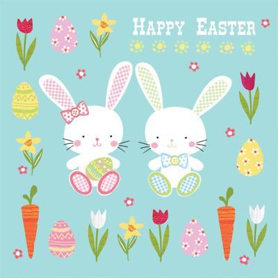 las-bunny-easter-design