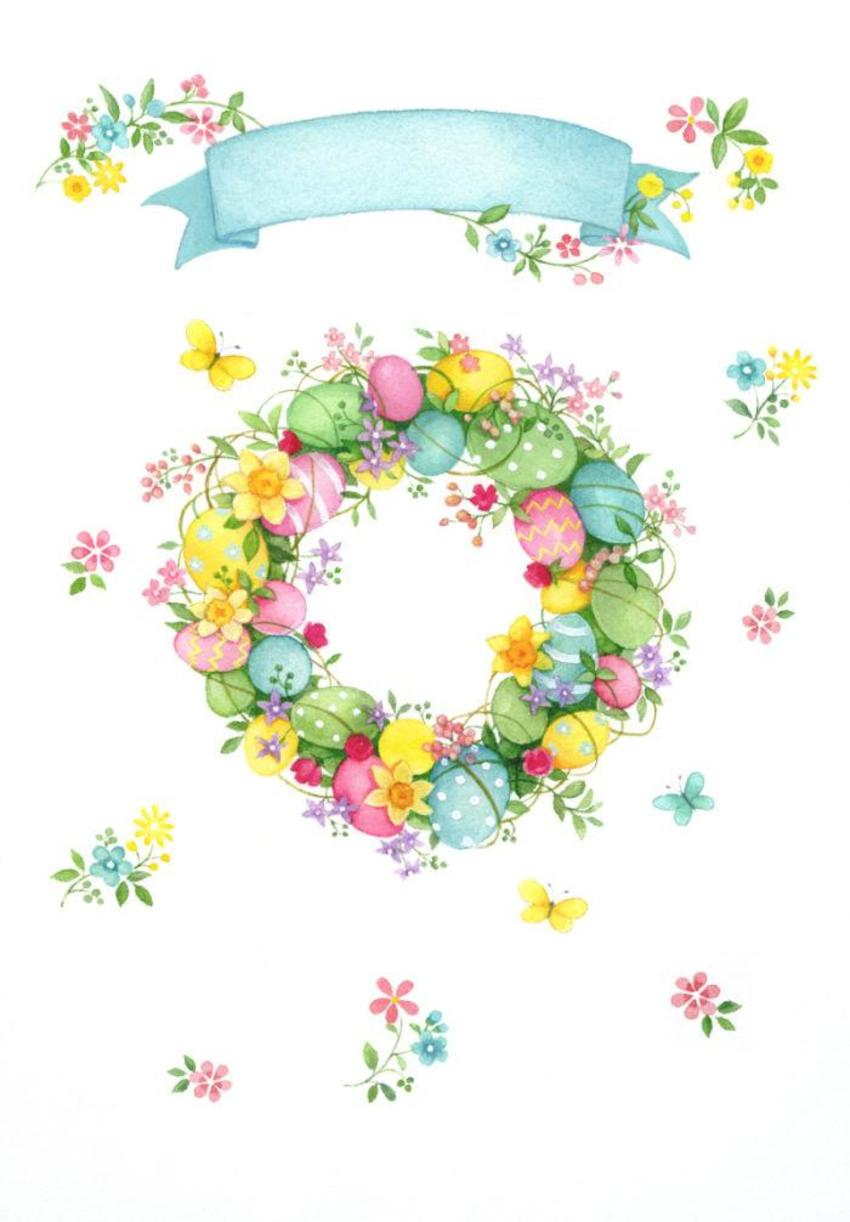 LA - Easter Wreath AW