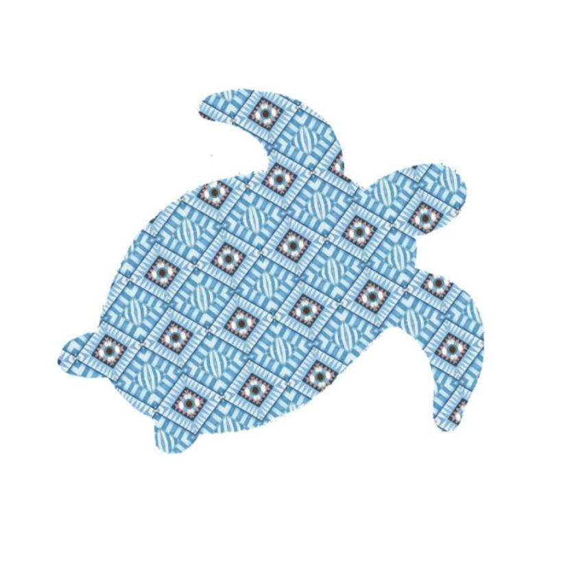 Navajo Turtle Blue
