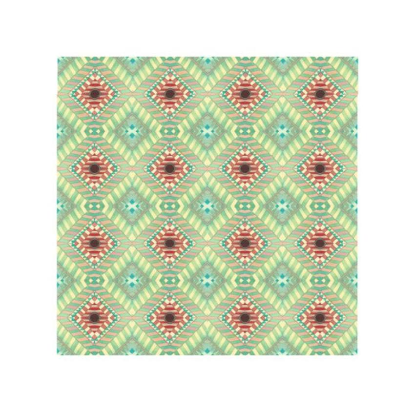 Pattern Navajo Turquoise Red