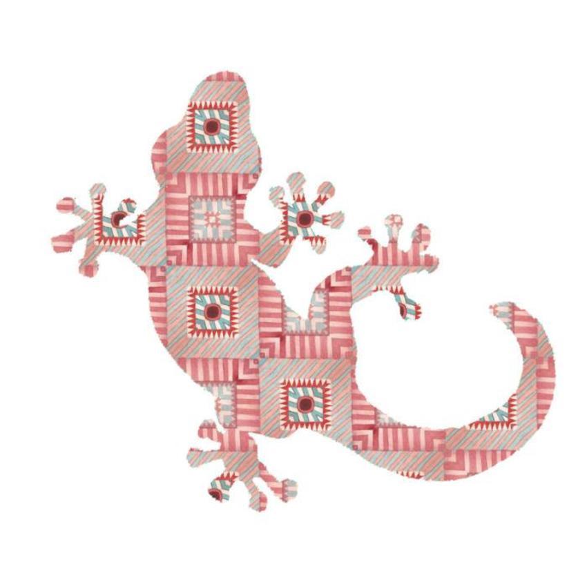 Navajo Red Lizard