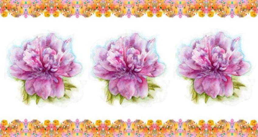 Floral Mug Design 4
