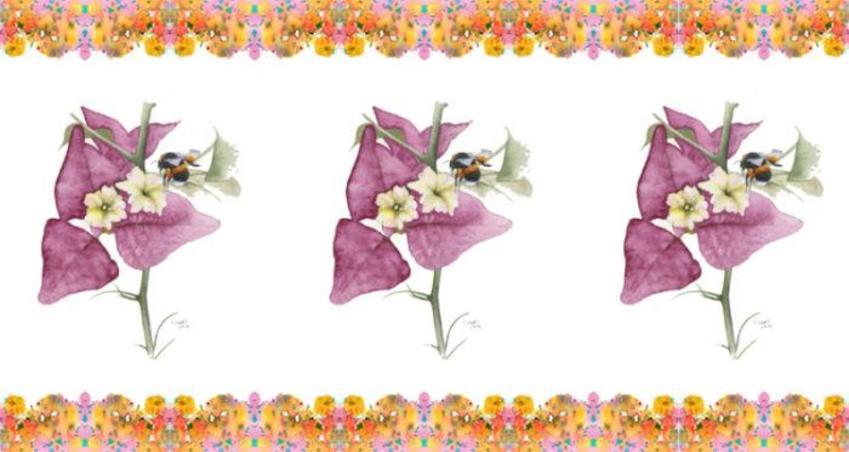 Floral Mug Design 1