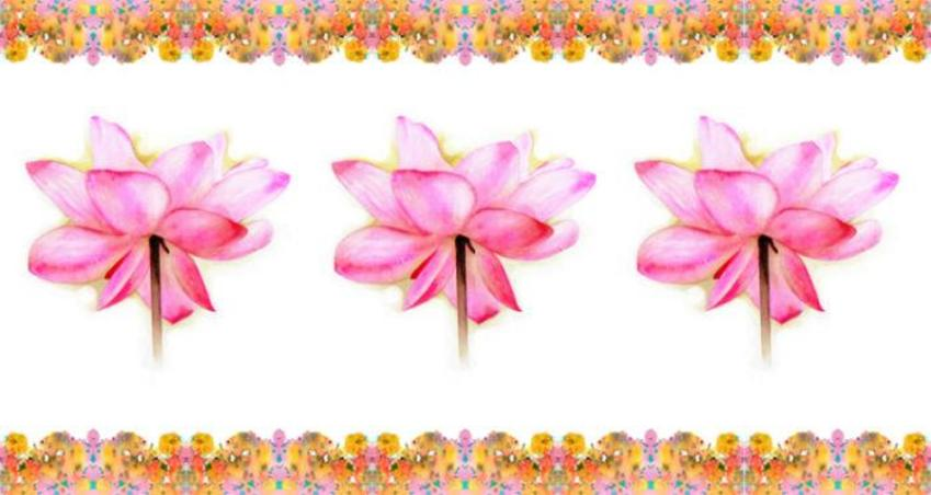 Floral Mug Design 3