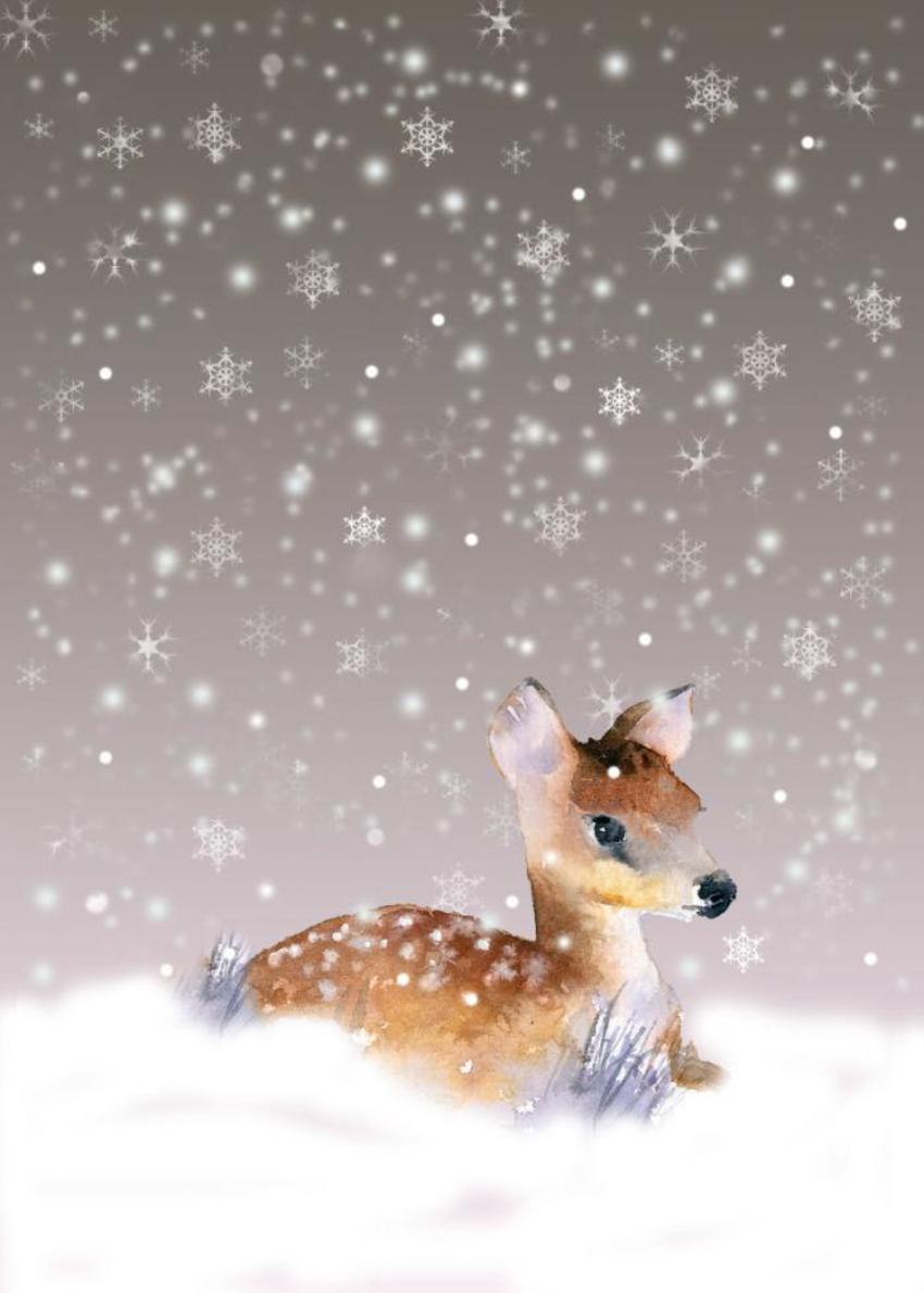 Snowflake Deer