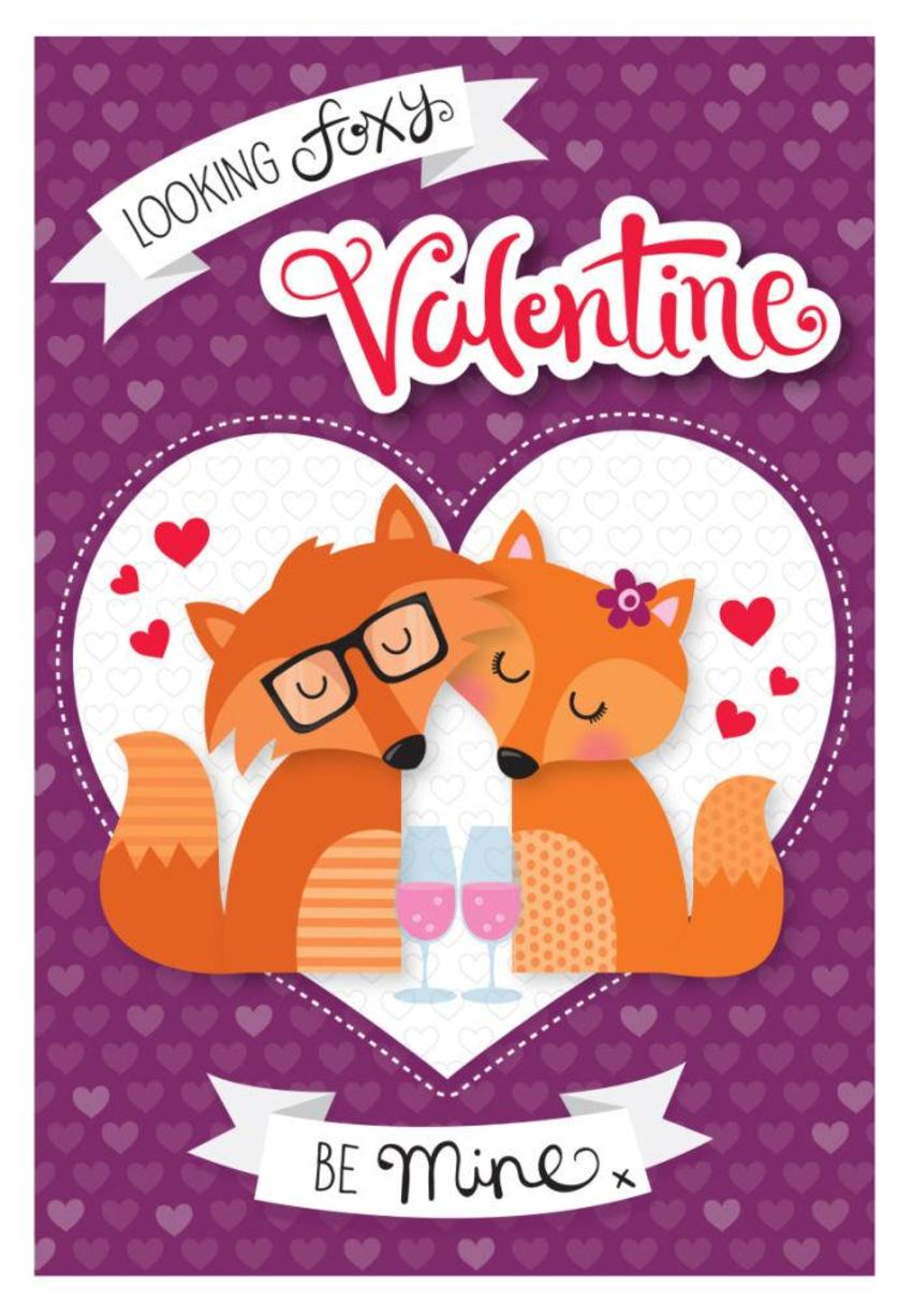 JENNIE BRADLEY-VALENTINES-FOXES