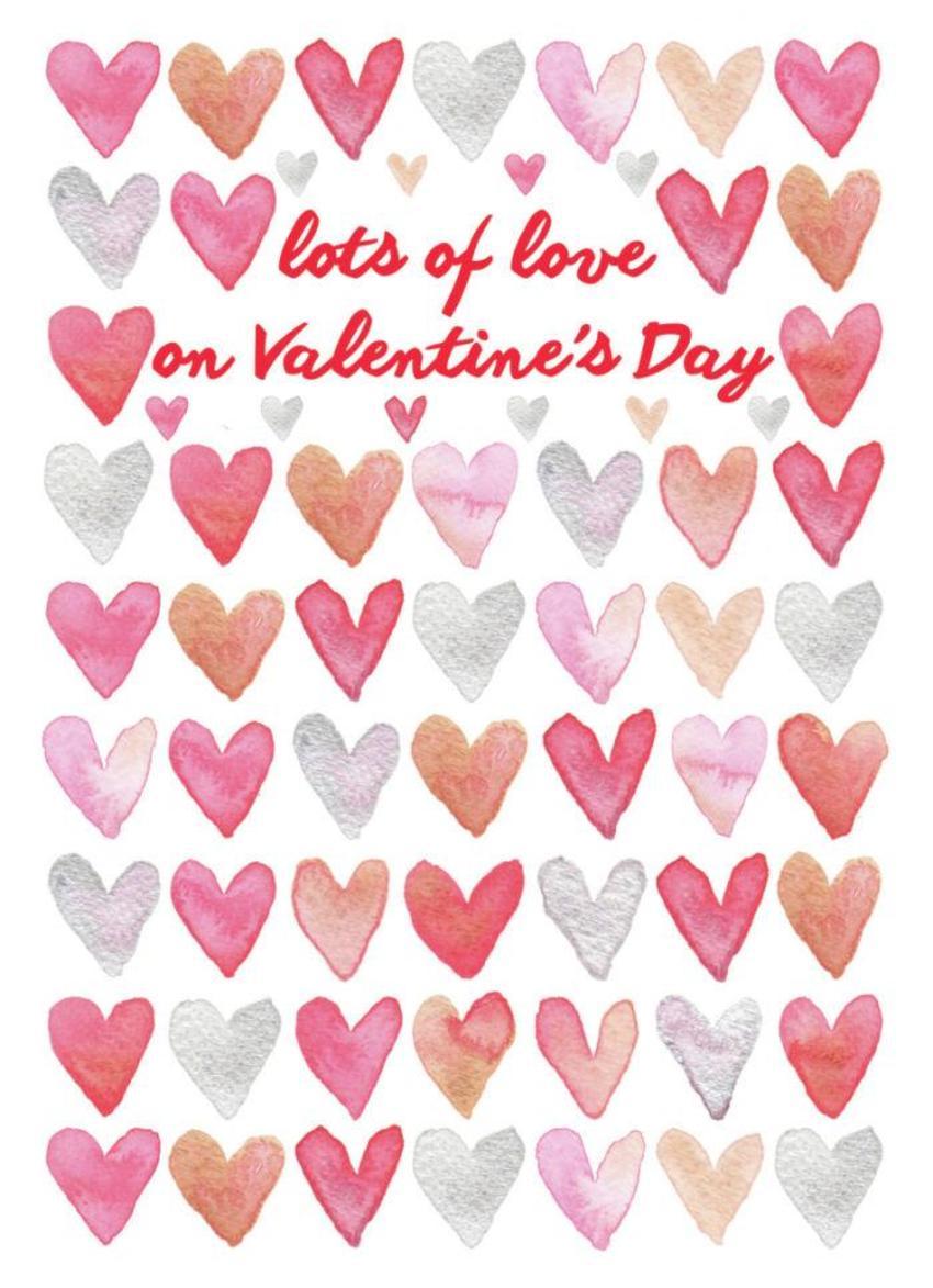 Small Watercolour Valentine Hearts2
