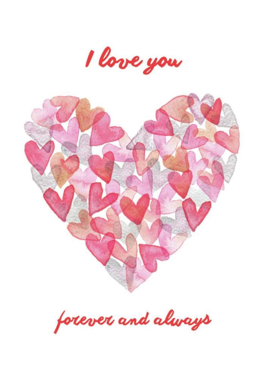 Valentine Watercolour Heart3