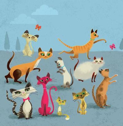 retro-cats