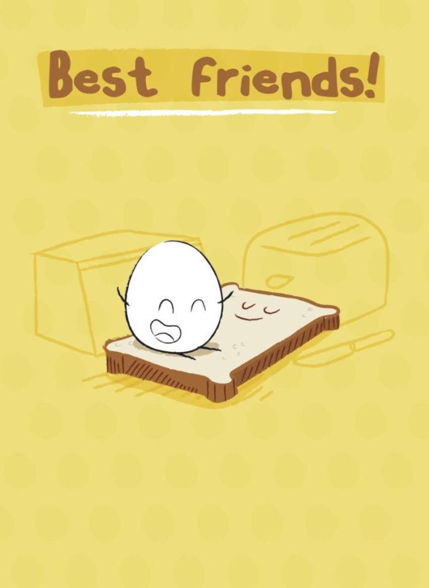 Eggward Best Friends