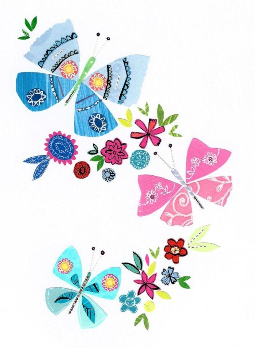 PT - New Folk Butterfly Art 1