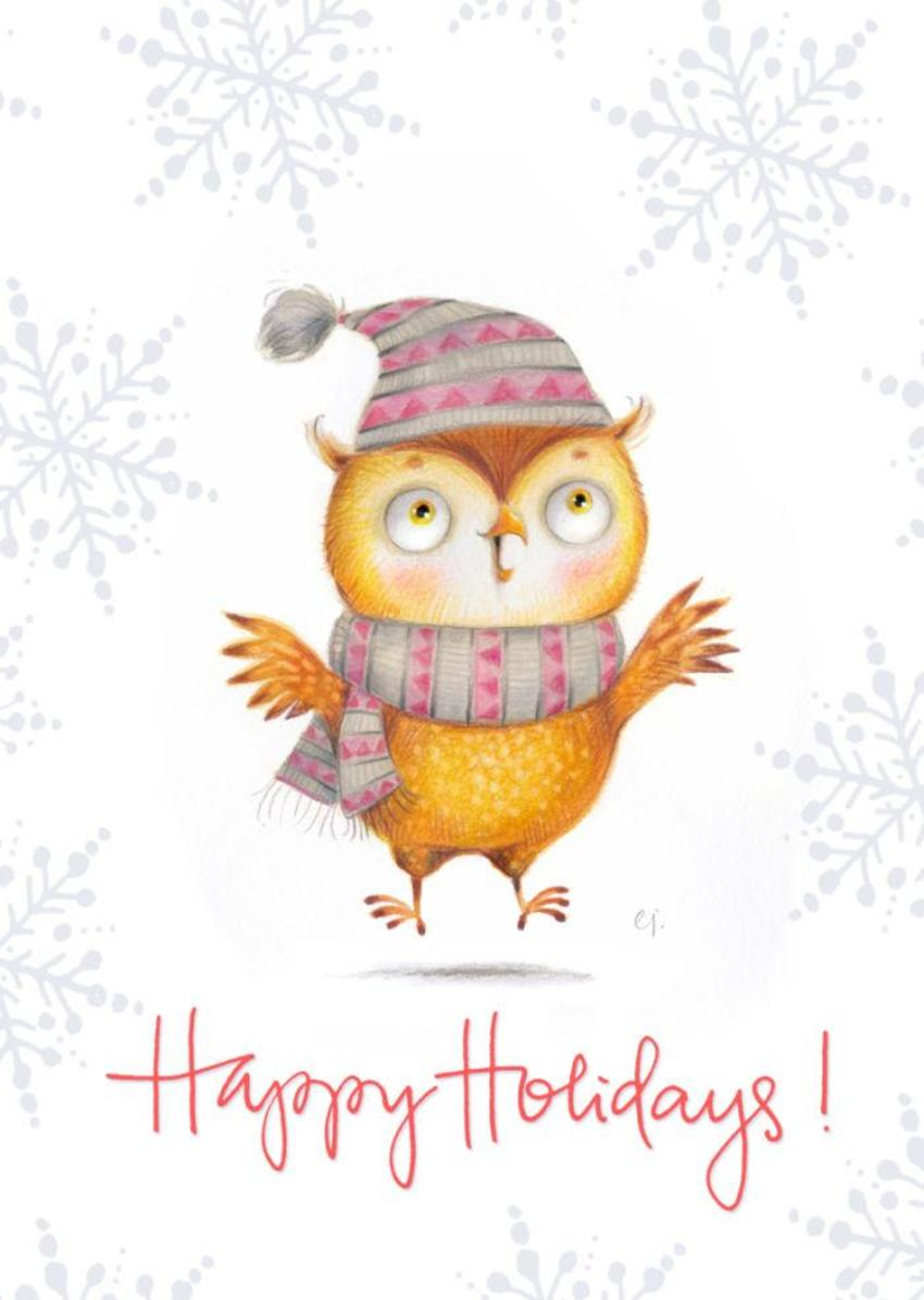 Holiday Owl2