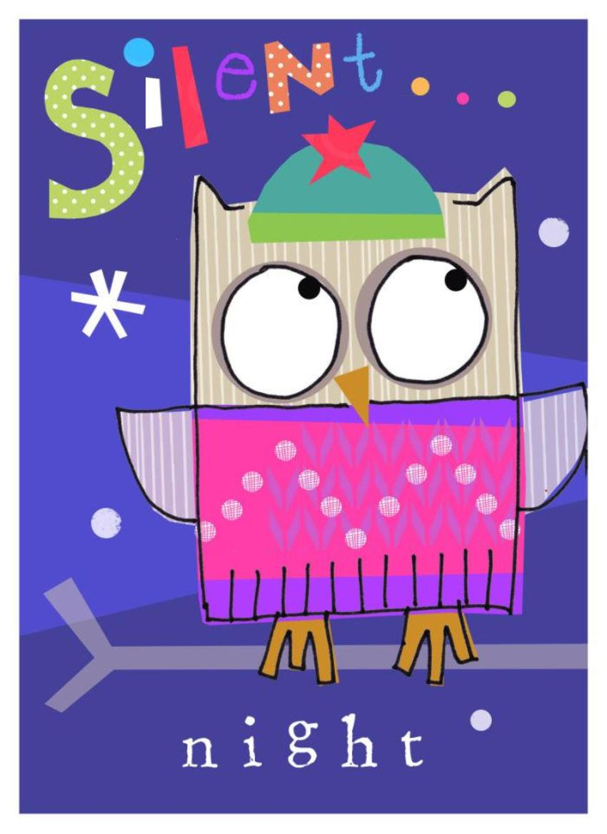 J Schof Christmas Owl Two