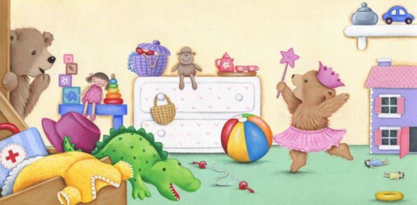 Mummy And Baby Bear Bedroom