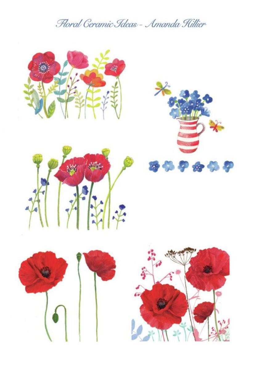 Floral Ceramic Ideas