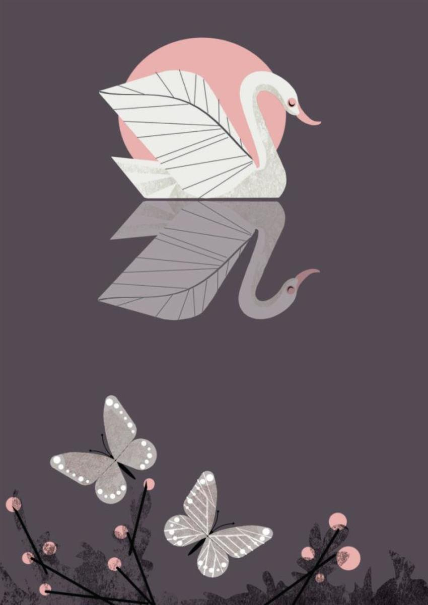 Retro Swan