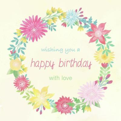 watercolour-birthday-flowers-wreath