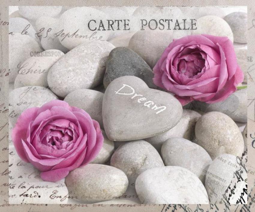 Postcard Greeting Card Rose LMN41121
