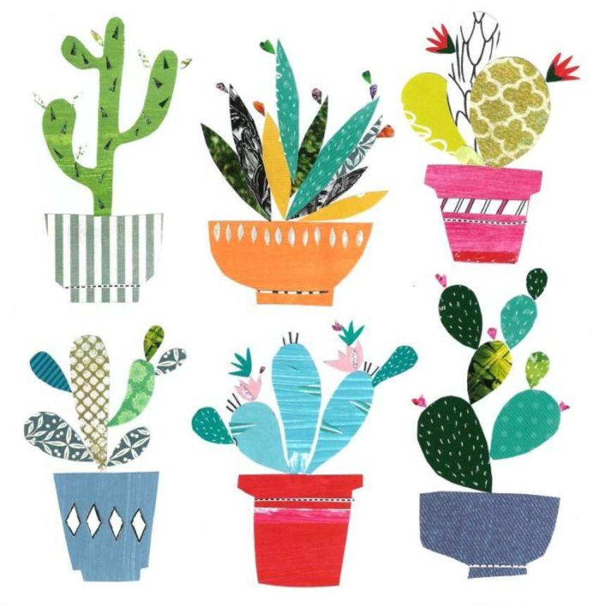 Liz And Kate - New Cactus Art!