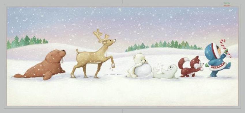 Snowy Animals Hallamark
