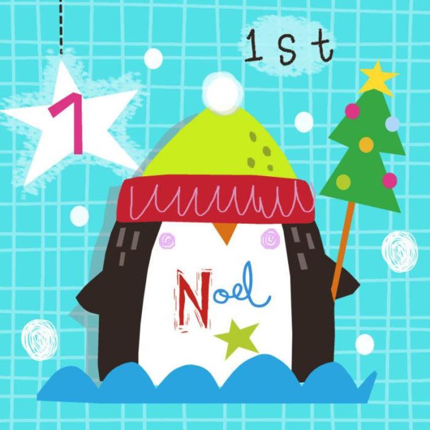 1 J Schof Christmas Penguin Advent