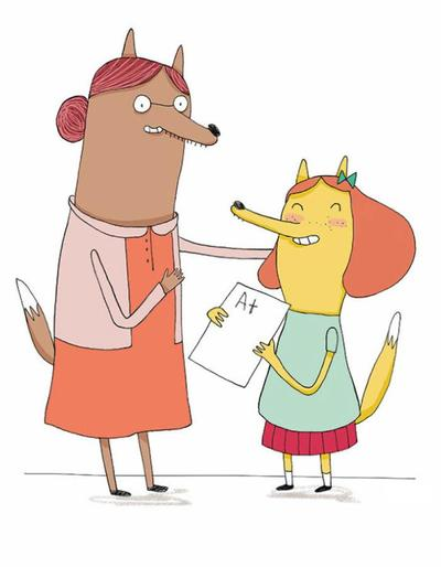 fox-family-educational-kid-girl