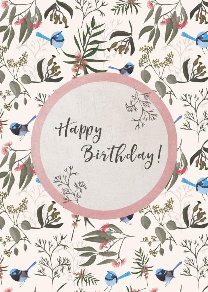 Aus-fauna-birthday-card