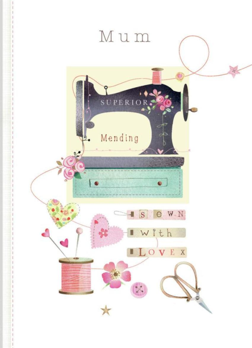 Mothers Day Sewing Machine
