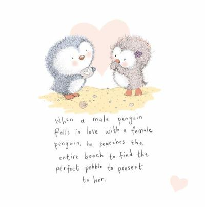 penguin-cutequotelove-card-design