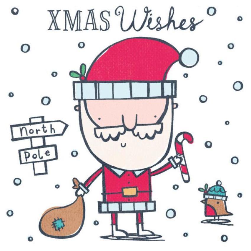 Line Christmas Character 2