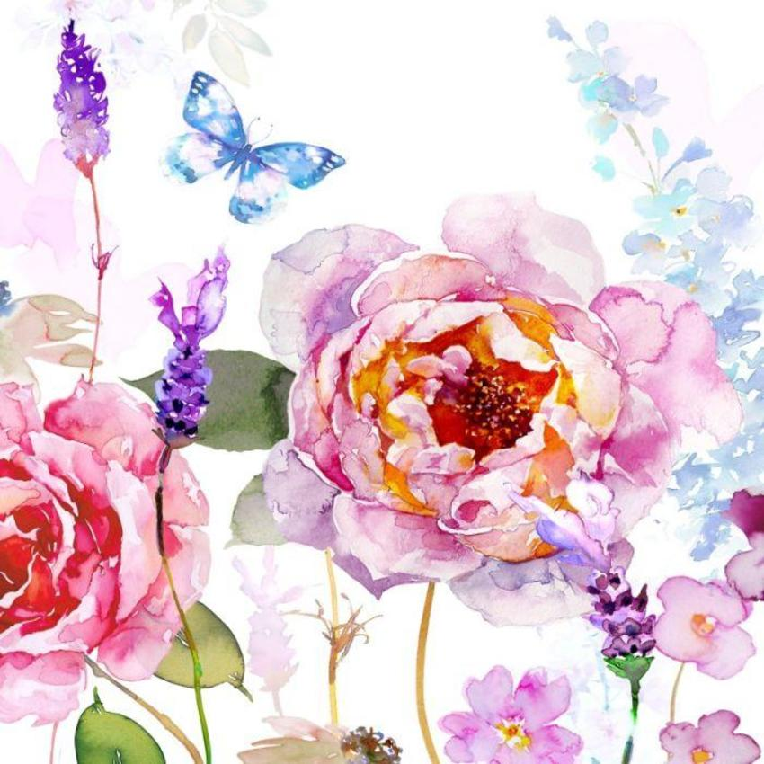 ROSE & LAVENDER Floral.psd