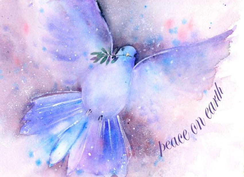 Peace On Earth Dove Copy