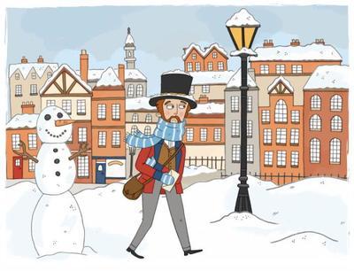snowy-victorian-postman
