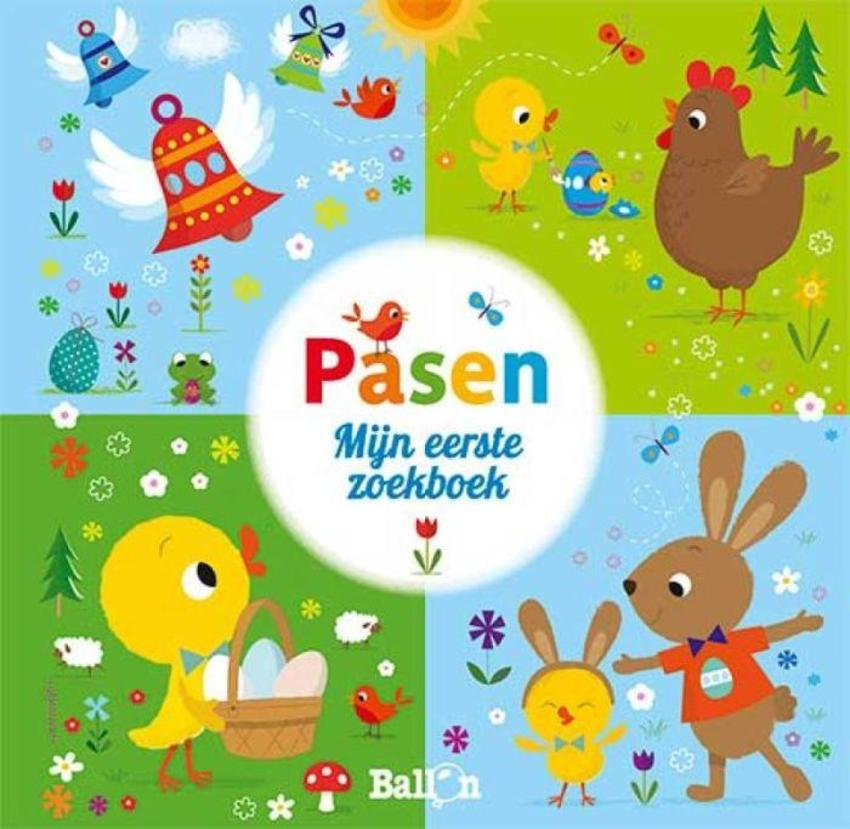 ACW Easter Book Chick Rabbit Eggs Spring