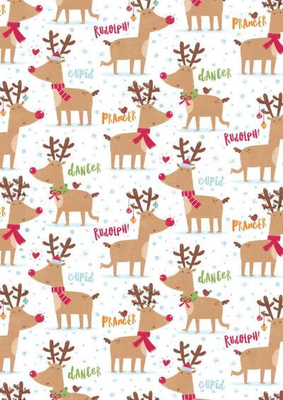 reindeer-pattern