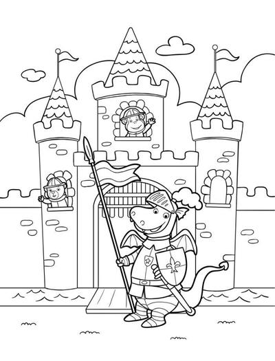line-artwork-igloo-knight