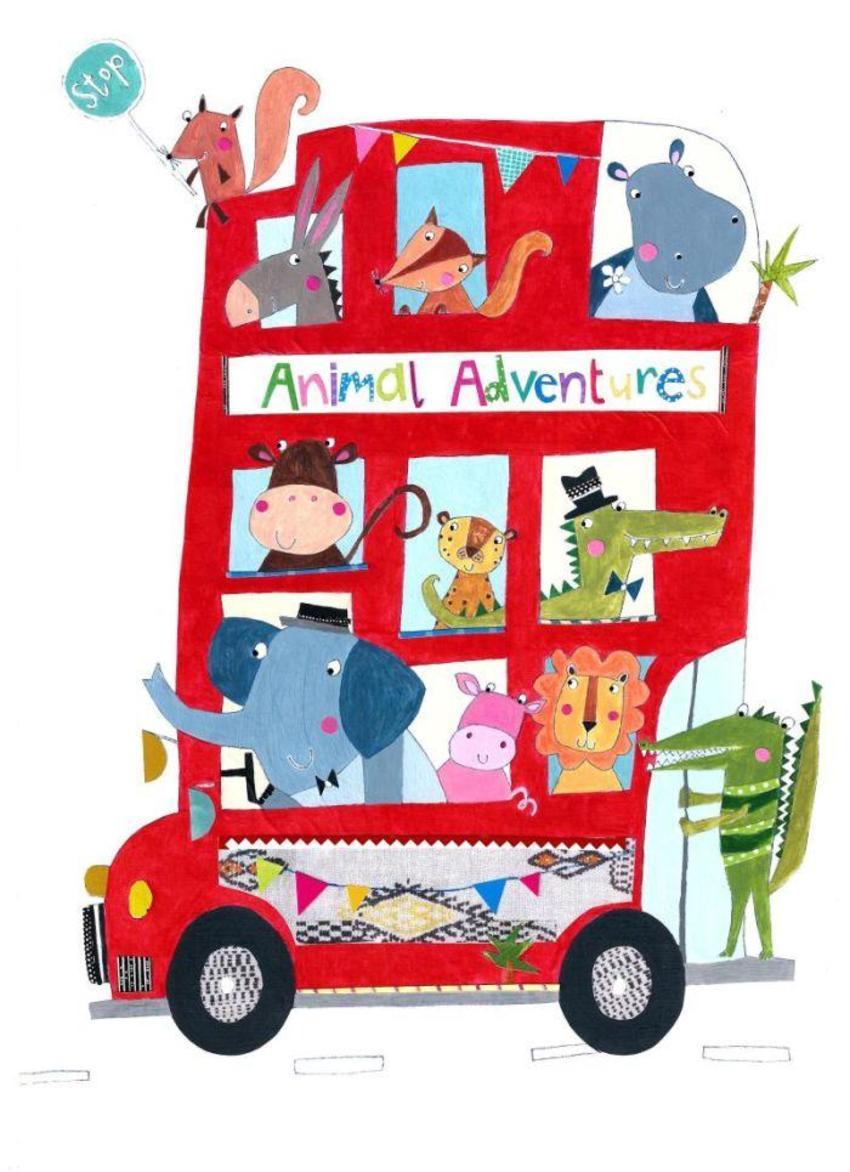 Liz And Kate - NEW Animal Bus