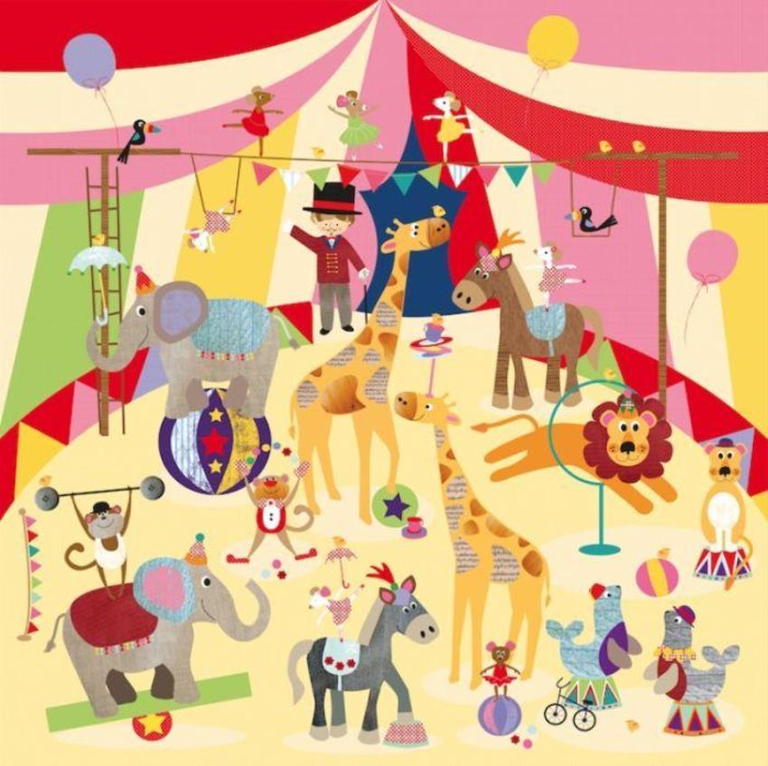 Liza Lewis Circus Animals