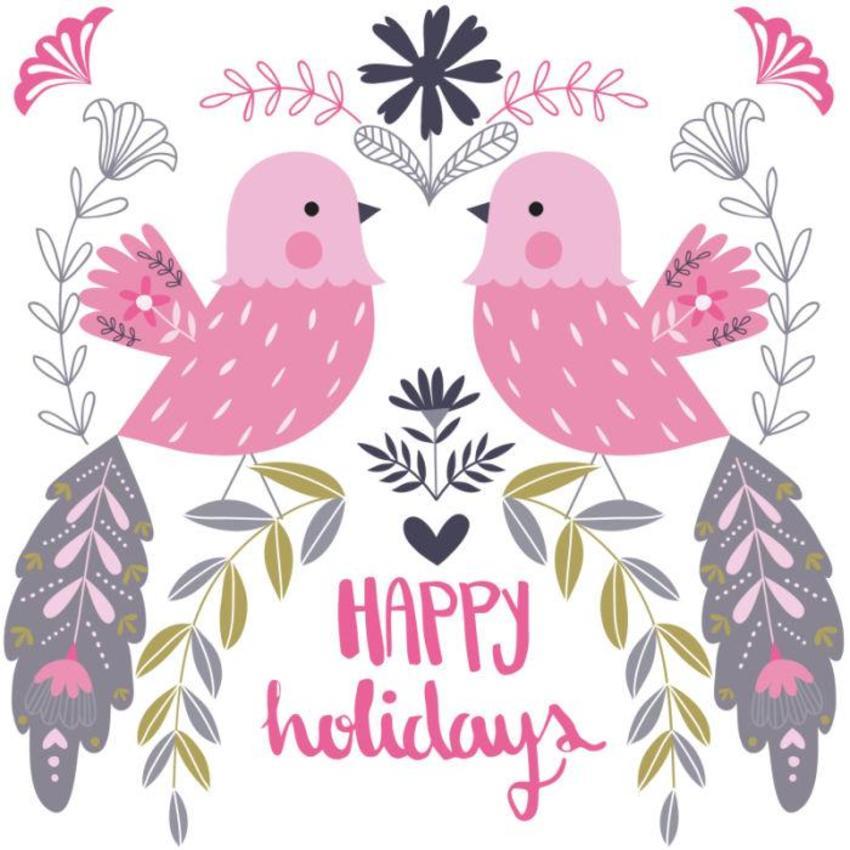 Christmas Card - GM_Small Birds