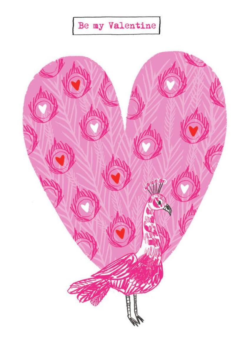 Peacock-valentine