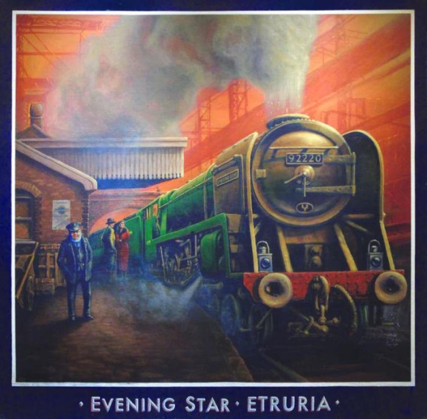 Train-Etruria Steam Traditional