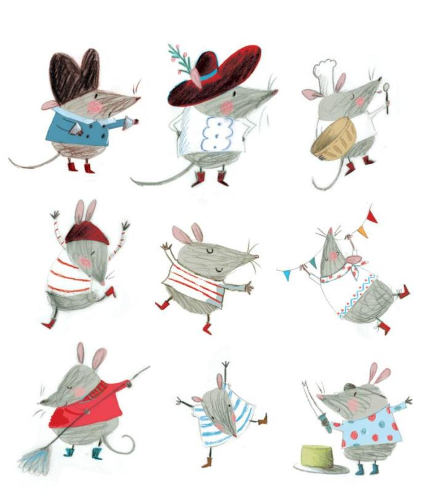 Pirate Rat Characters