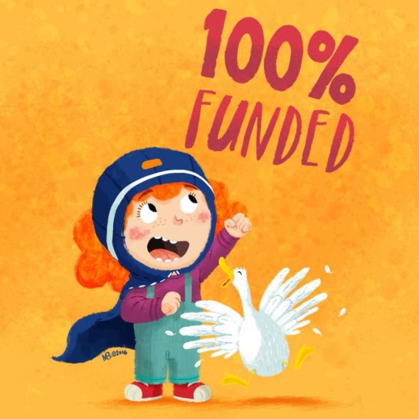 Kickstarted Funding Celebration
