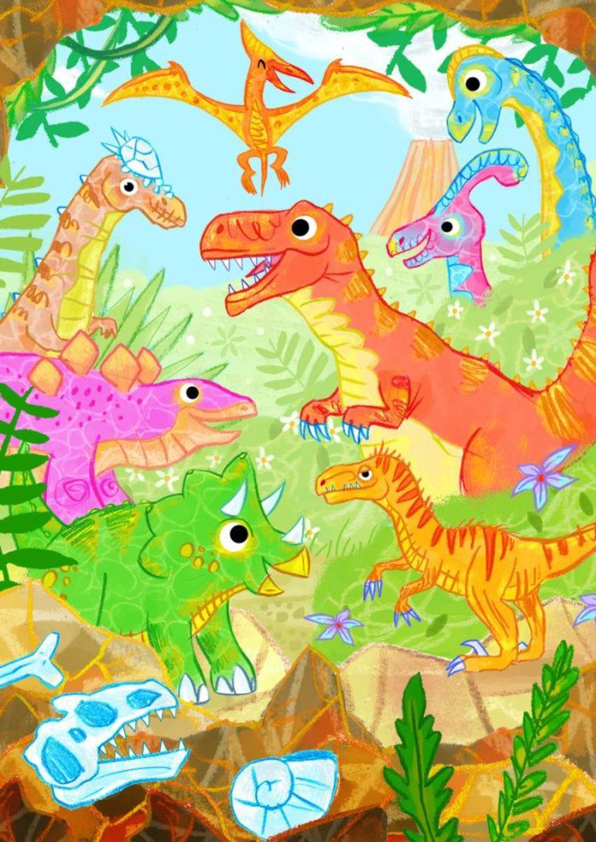 Dinosaur Spread