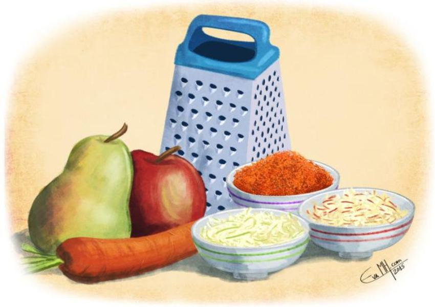 Grated Food EMH