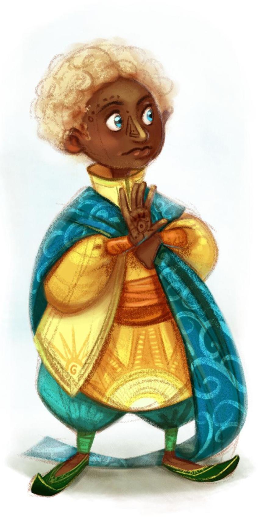 Character Design Kid Fantasy